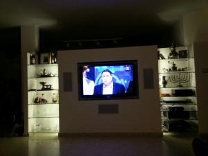 קיר גבס לטלוויזיה